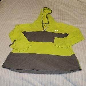 Nike Stripe Running Hoodie w/ Thumb Holes